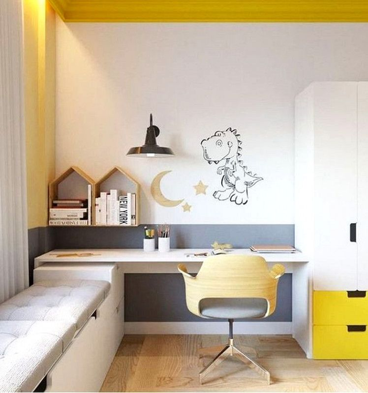 20 Gorgeous Small Kids Bedroom Ideas With Study Table
