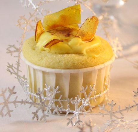 Seattle Pastry Girl: Crème Brûlée Cupcakes-Happy New Year