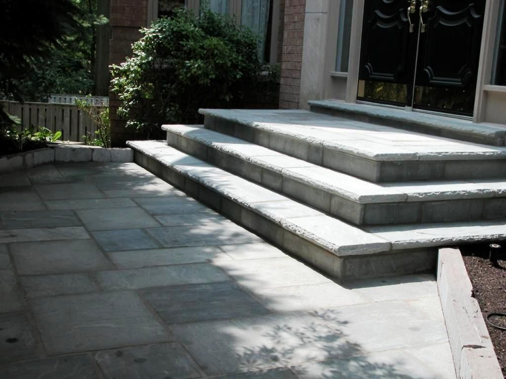 Bch Landscaping Natural Stone Patio Stones Patio Steps Patio Stairs