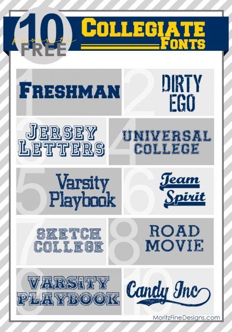 10 Best Free Fonts for Sports Fans Blog Inspiration Pinterest - best professional fonts