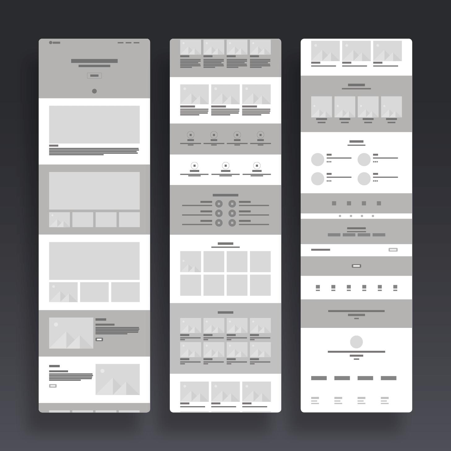 Gerald Miller Struktr Website Inspiration Wireframe Ux Design