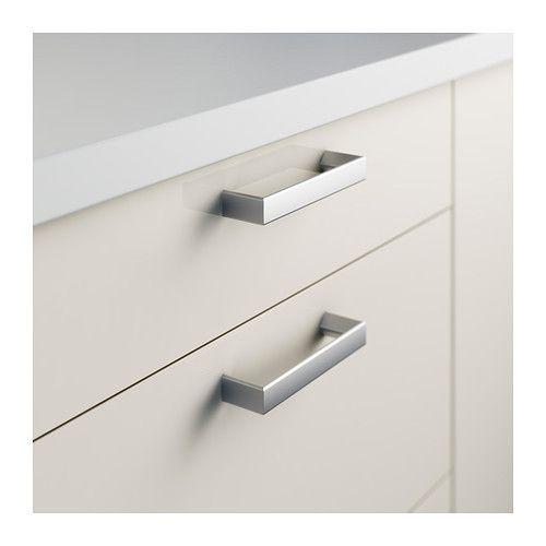 Tyda Handle Stainless Steel 5 7 16 Ikea Kitchen Remodel