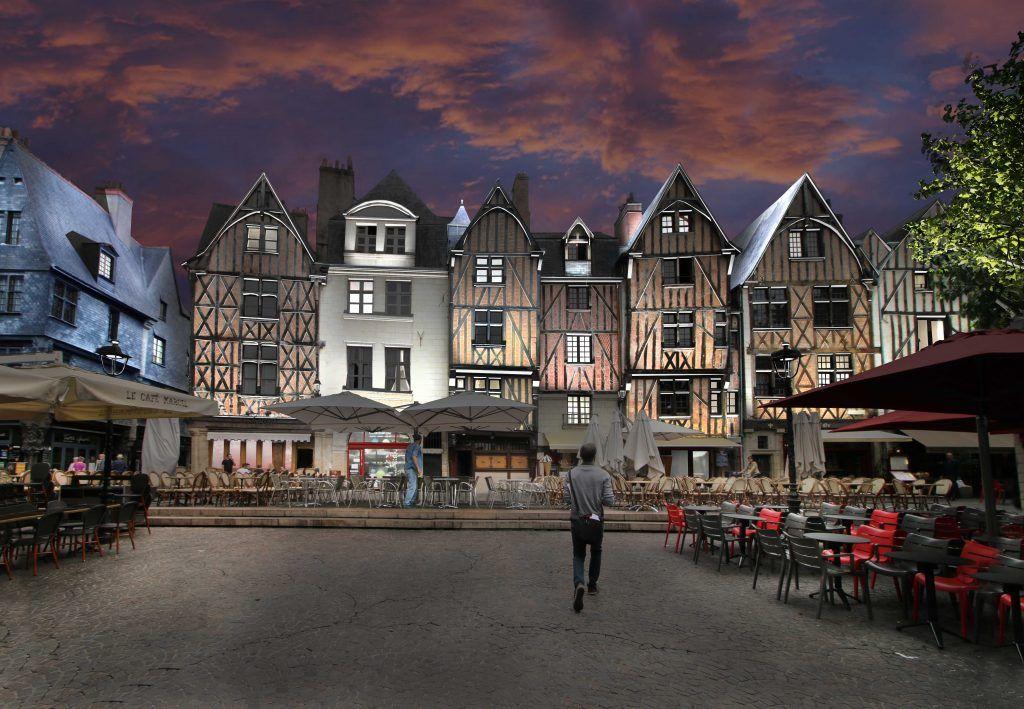 Découvrez le plan lumières de la ville de Tours | La ville lumière, Paris  ville lumière, Lumiere