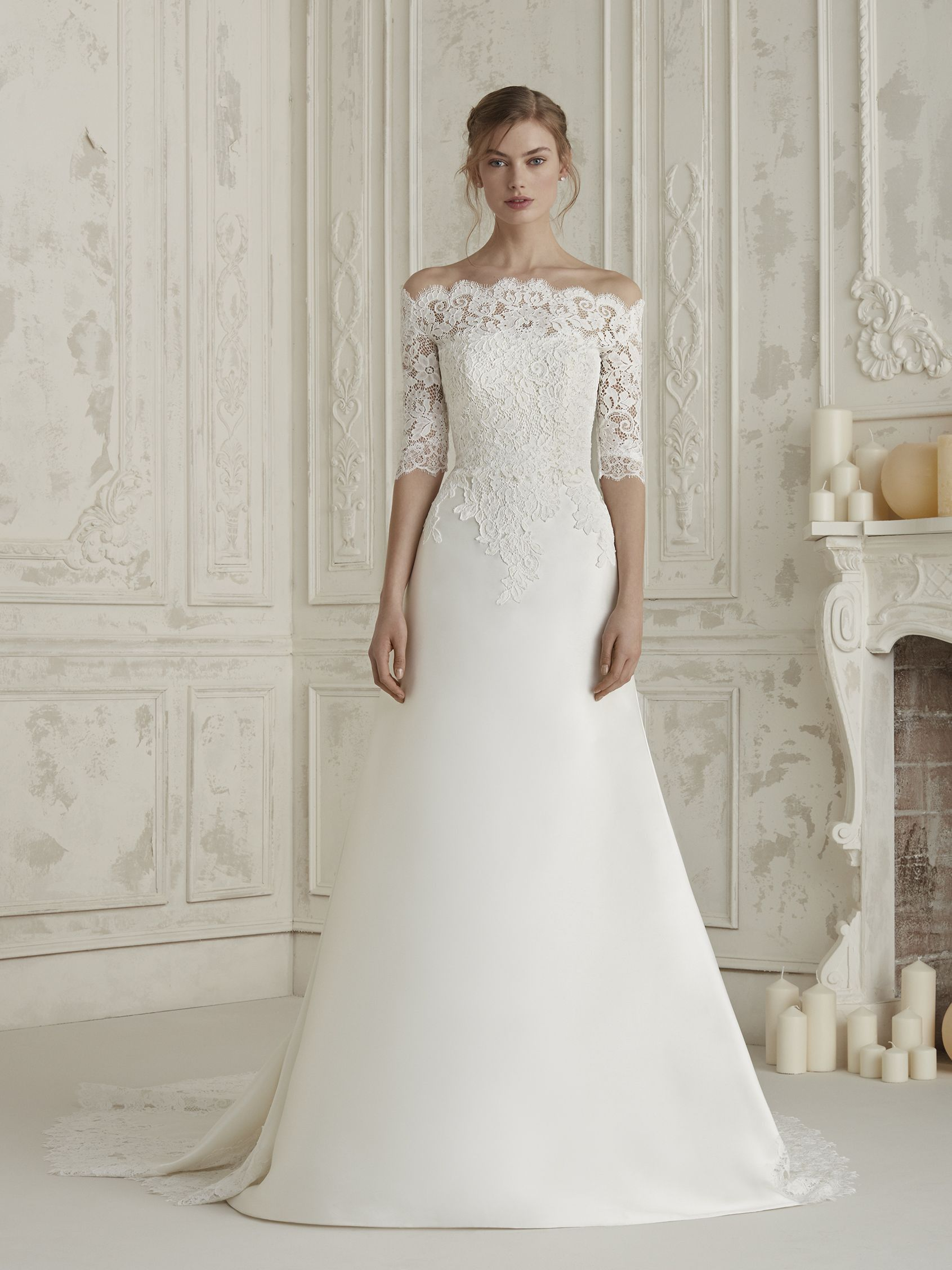 Try On Pronovias Dresses At Elegance By Roya Bridal Boutique