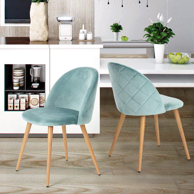 2 sedie in velluto verde acqua 102 </p>                     </div>                     <div id=