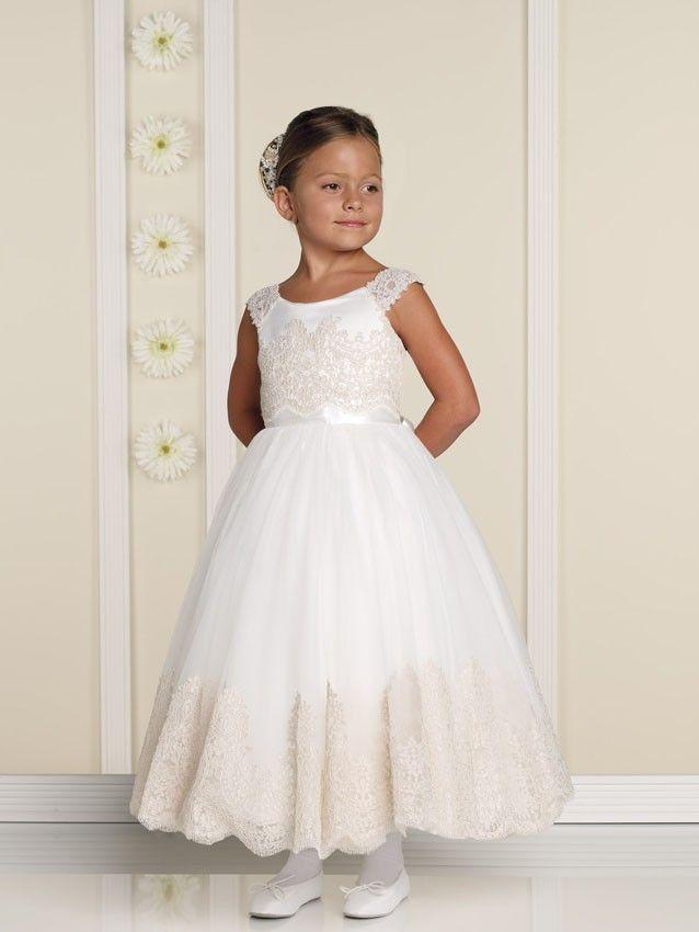 60fa1f382dc Joan Calabrese 19328 Flower Girl Dress