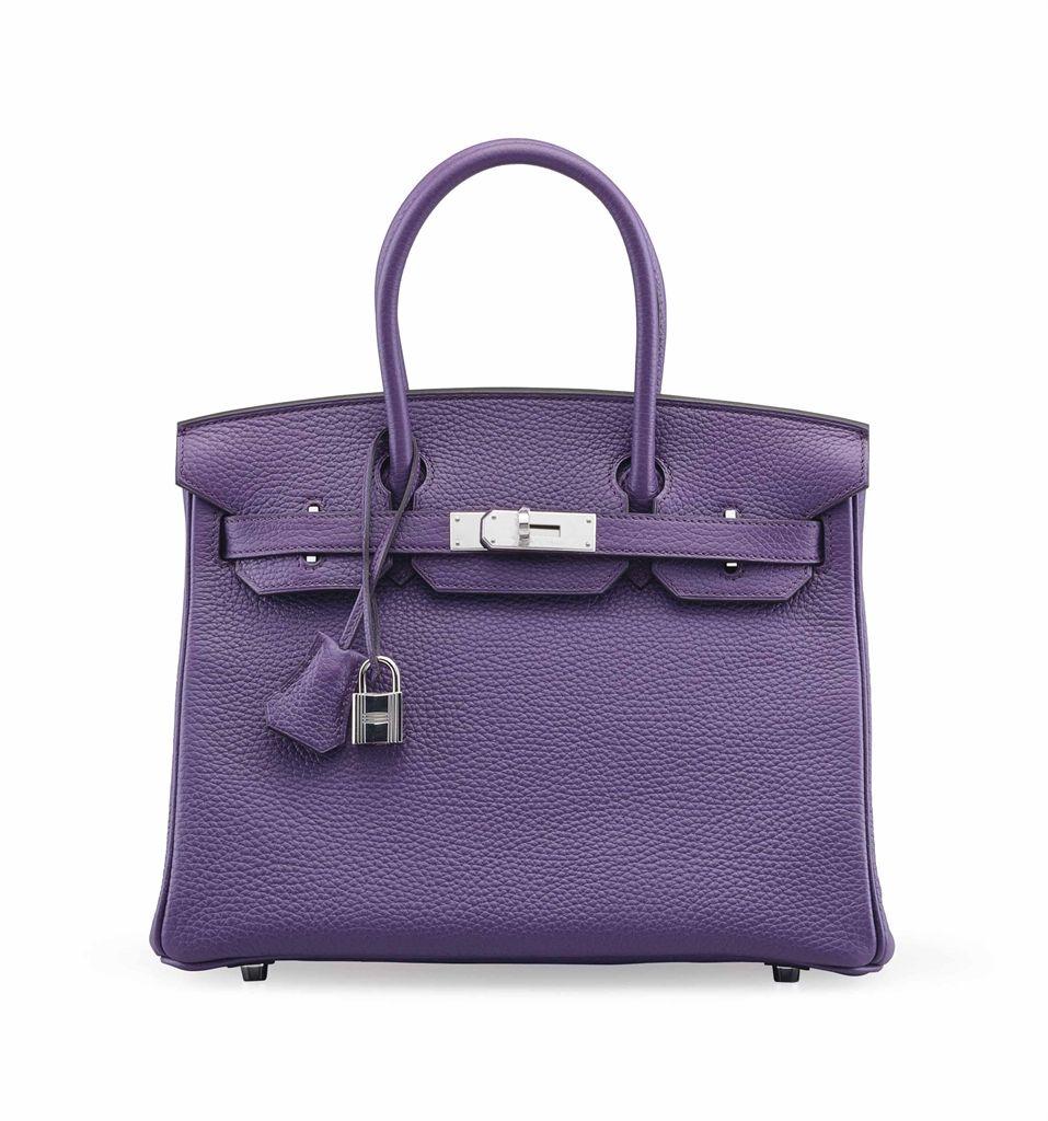 1d9ed0a47616 Hermes Birkin 35 Bag Rare Pink Tosca Special Order Horseshoe Clemence  Palladium