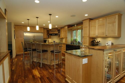 Shaker Maple Cabinets Design, Pictures, Remodel, Decor and Ideas