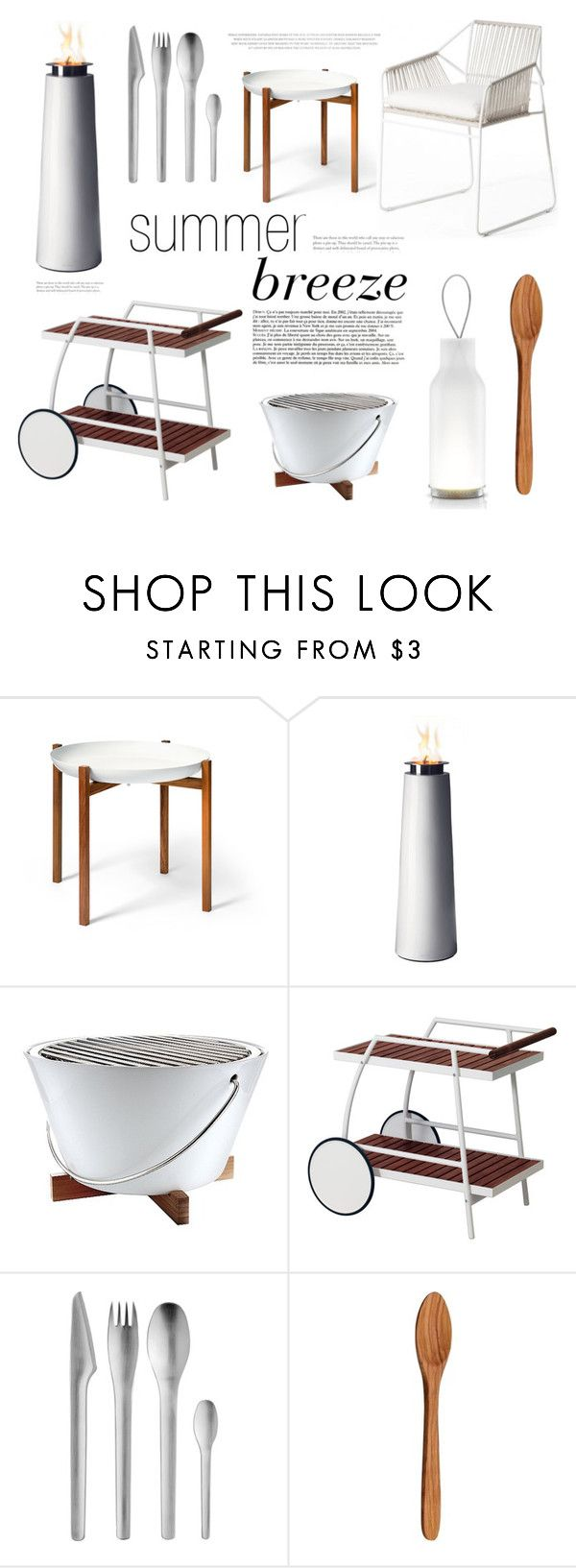 """""""white summer breeze"""" by stebi ❤ liked on Polyvore featuring interior, interiors, interior design, home, home decor, interior decorating, Design House Stockholm, Menu, Eva Solo and Stelton"""