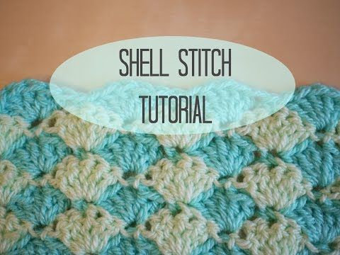 CROCHET: Shell stitch tutorial | Bella Coco - YouTube | Blankets ...