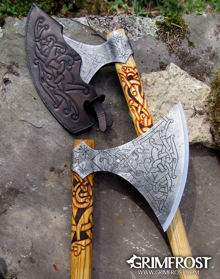 Hand Forged Swedish Viking Axe Truly A Work Of Art Axe Vikings Viking Axe