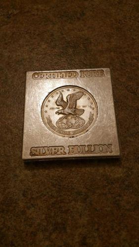 Silver Metals International Certified Pure Silver Bullion 10 oz .999 ...