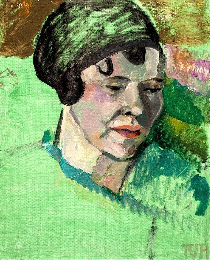 Tora Vega Holmström - Lady in Green
