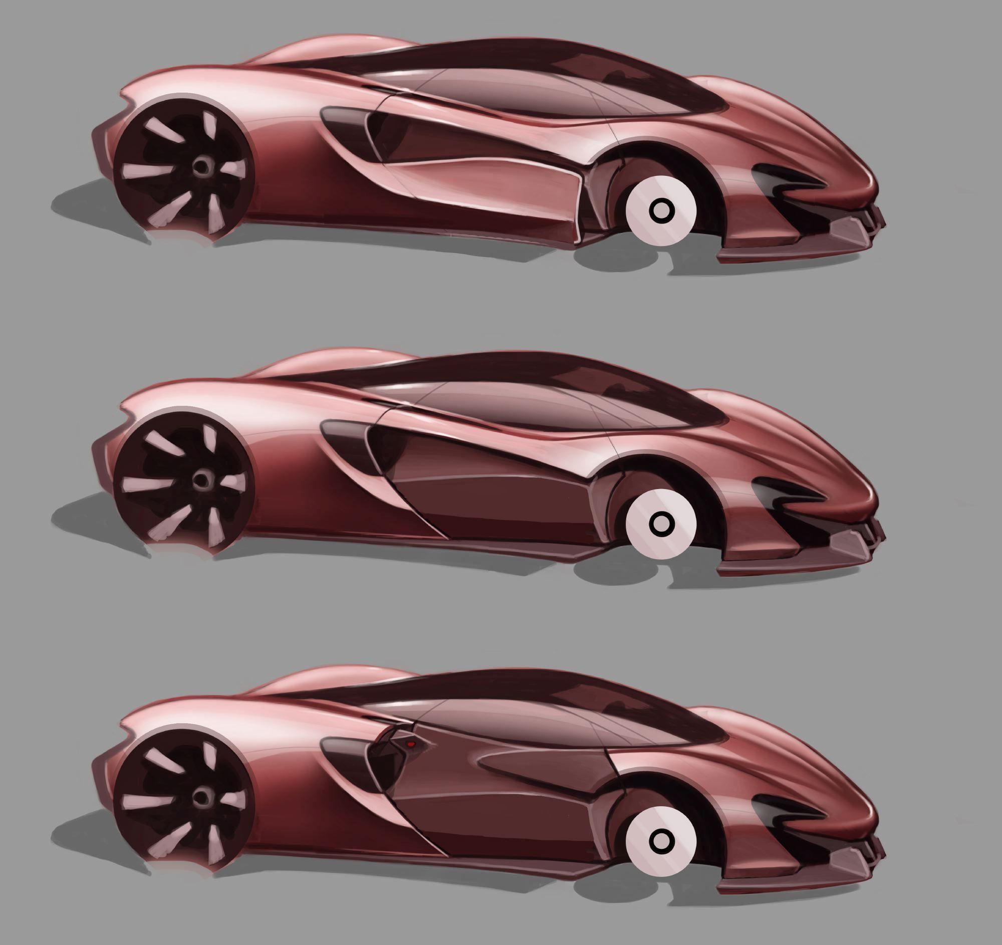 Design Development Mclaren 570s Car Design News Car Design Sketch Car Design Automotive Design