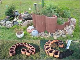 pflanzsteine setzen #kleinekräutergärten