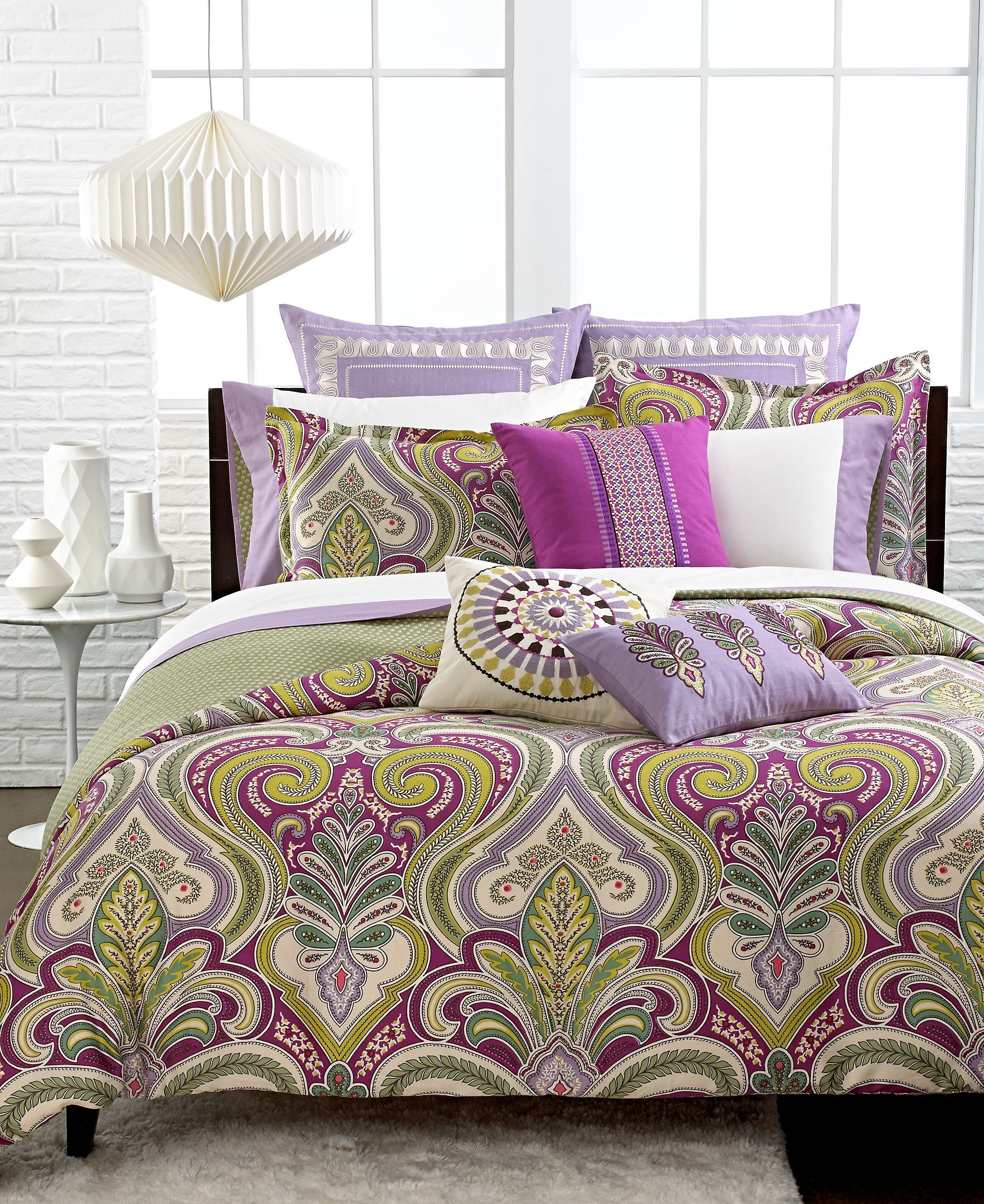Echo Vineyard Paisley California King Comforter Set