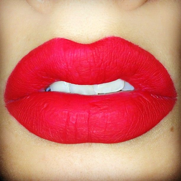 Lime Crime Velvetine Matte Gloss In Red Velvet Swatch