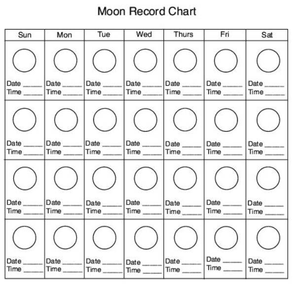 Moon Phase Worksheets – Moon Phases Worksheet