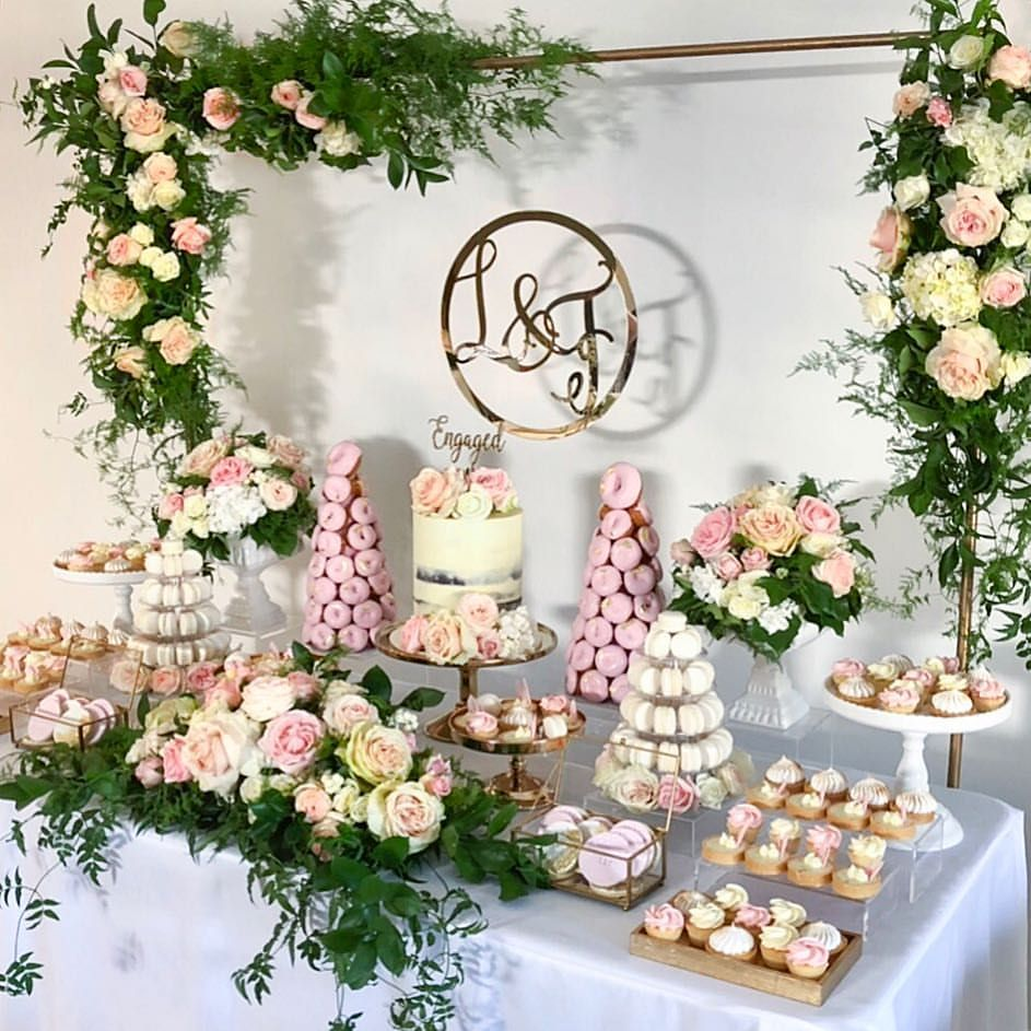 170 Likes 0 Comments Simone Taylor Taylor Made Gourmet On Instagram Another Shot Bridal Shower Desserts Table Wedding Dessert Table Dessert Bar Wedding