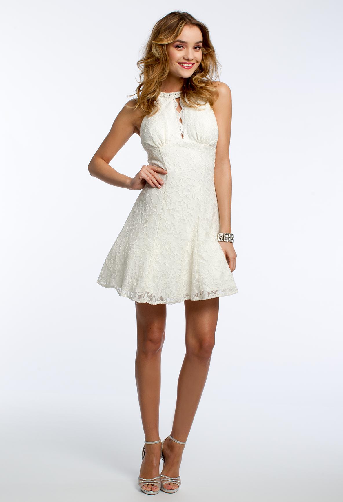 Glitter party lace dress camillelavie lace love pinterest
