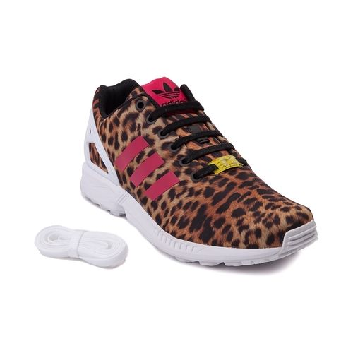 Womens adidas ZX Flux Cheetah Athletic Shoe from Journeys on shop.CatalogSpree.com 9736c090e