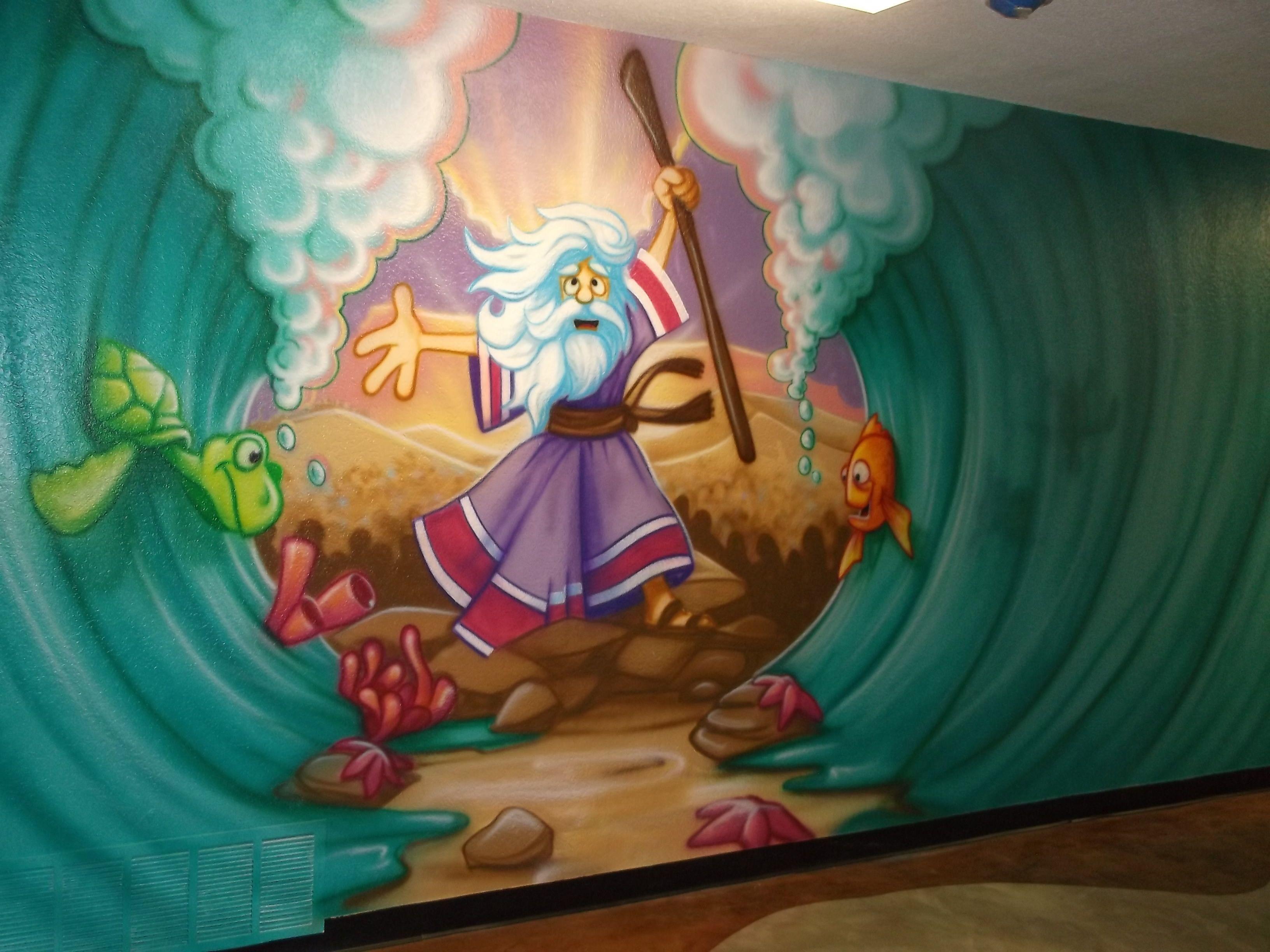 Wall Murals Bible Stories Google Search Fbc Children