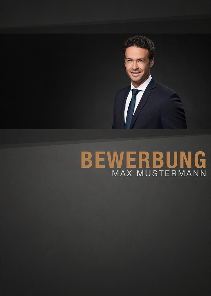Business Bewerbungsbild Word Vorlage Deckblatt Portrait Bewerbung