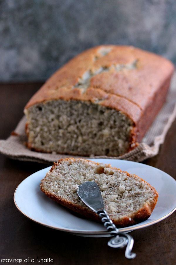 Momzie's Banana Bread from . Super easy recipe for banana bread. Absolutely delicious!