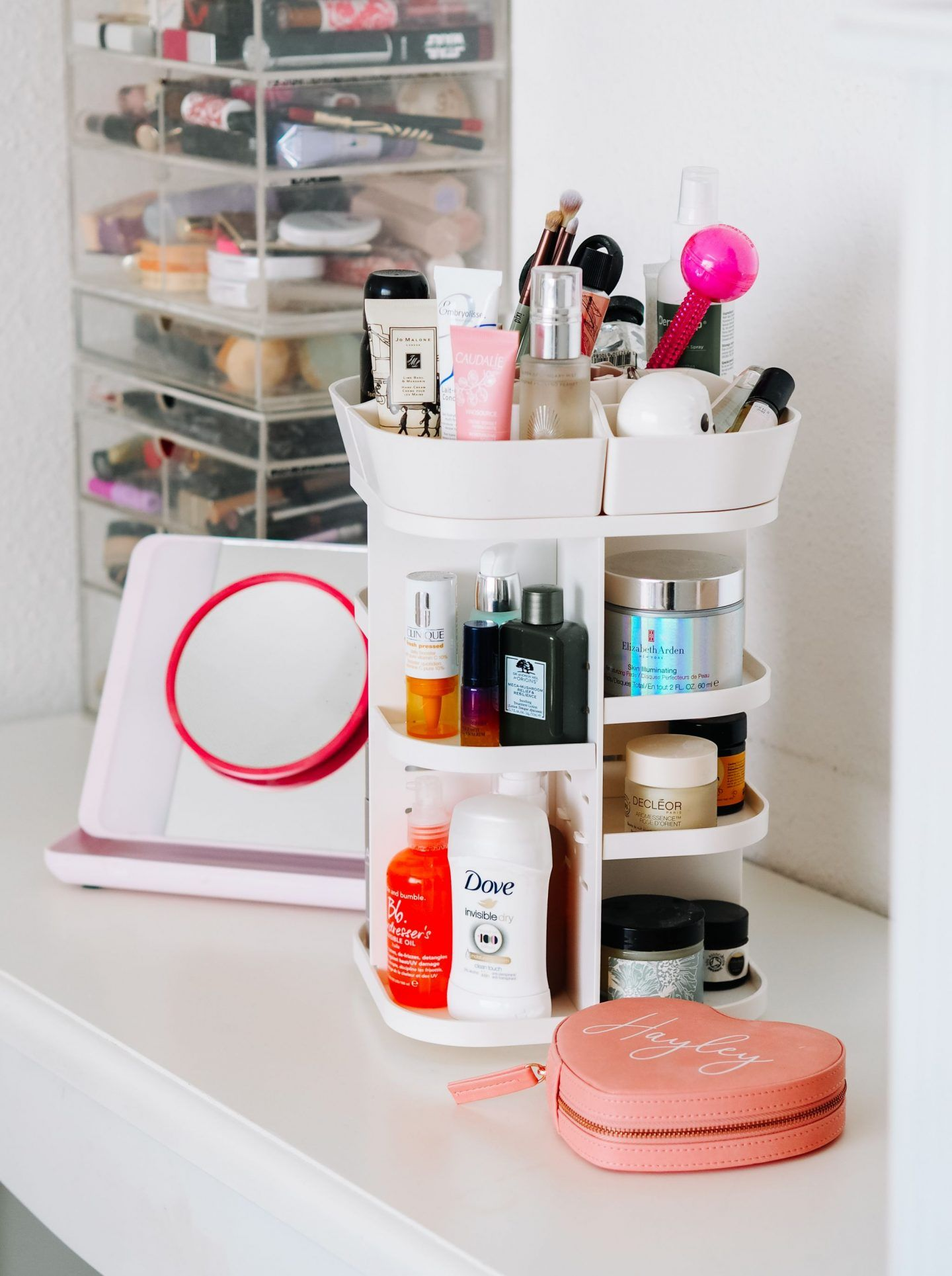 Best Beauty Storage Solution JerryBox 360Degree Makeup