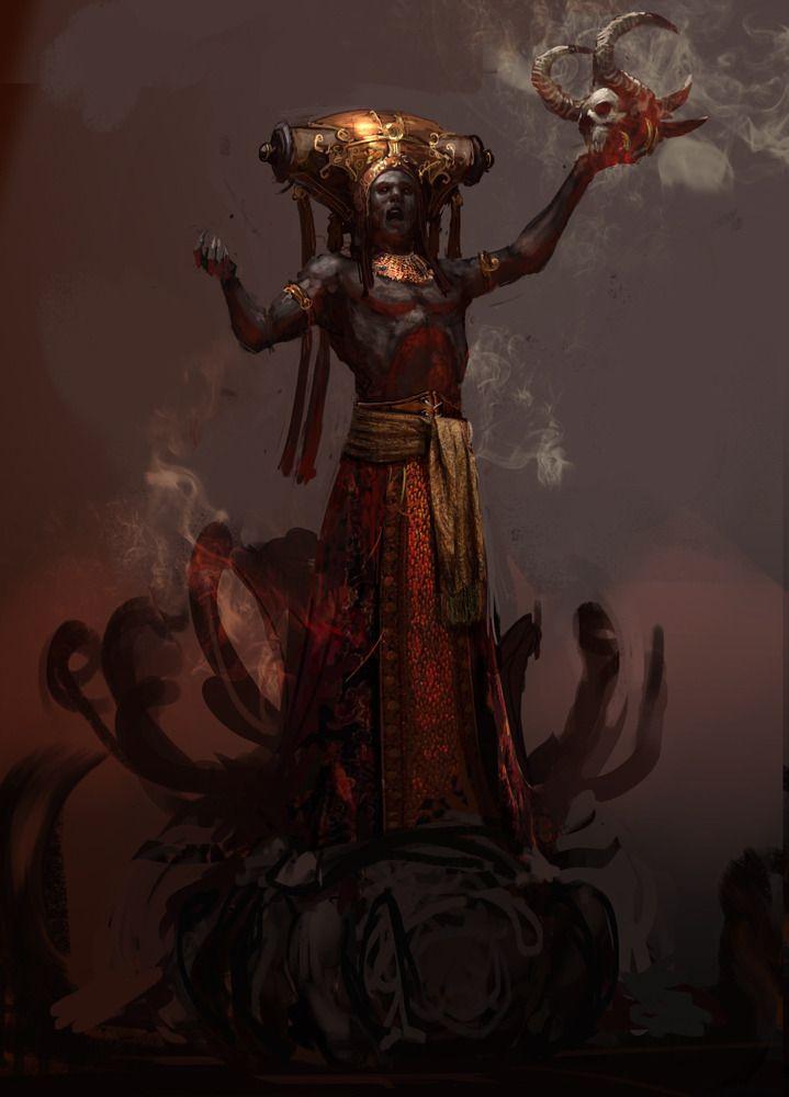 Chinese Fantasy Art Summoner