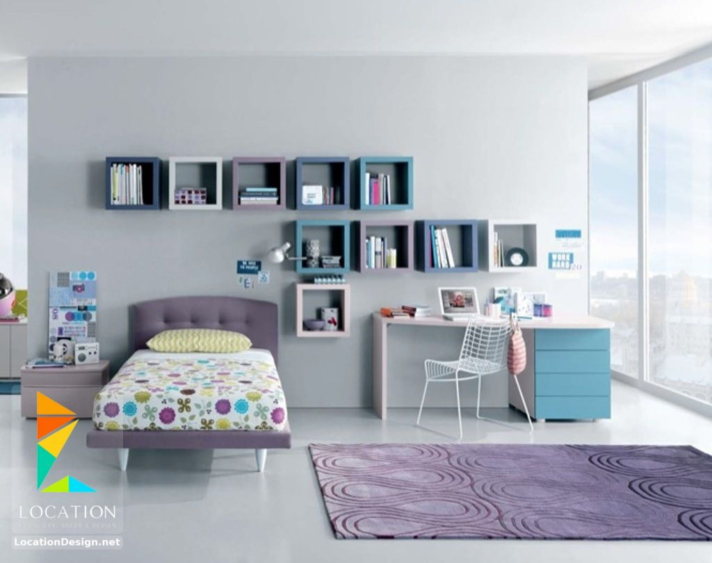 غرف نوم بنات 2018 2019 لوكشين ديزين نت Teenage Girl Bedrooms Teenage Girl Bed Girls Room Design