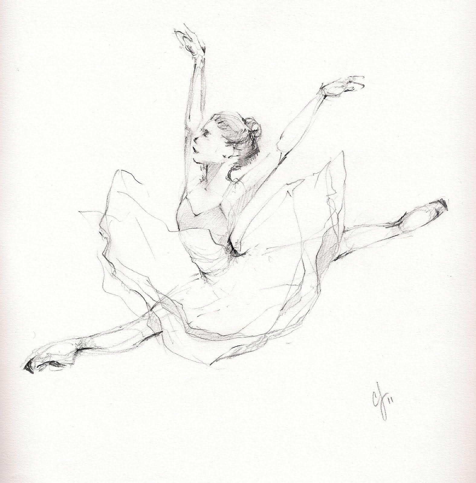 ballet please... beautiful drawing