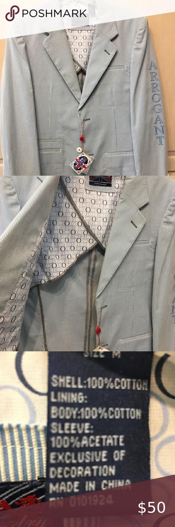 English Laundry Men Sport Coat Blue White Striped Blazers For Men Casual Mens Sport Coat Sport Coat [ 1740 x 580 Pixel ]