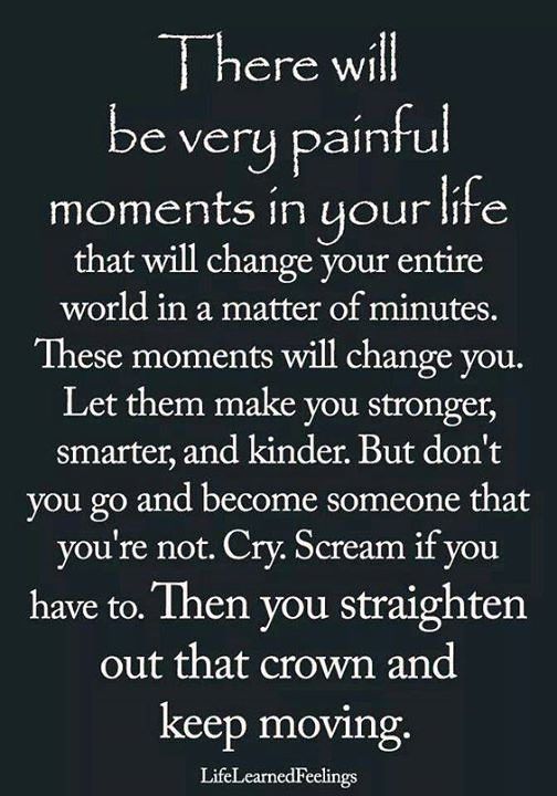 ❝ Moments that change you…