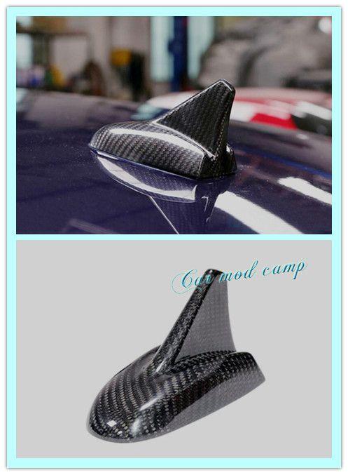 maserati Ghibli Quattroporte Carbon Fiber Decor Antenna Shark Fin For 2017