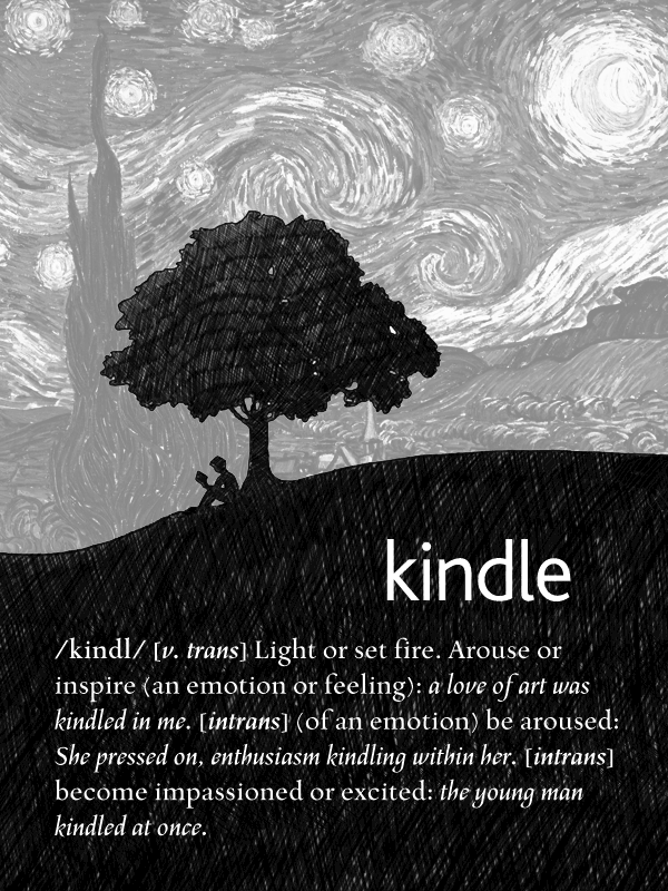 Customized Kindle Lock Screen By Dead4me On Deviantart Kindle Photography Wallpaper Starry Night Van Gogh
