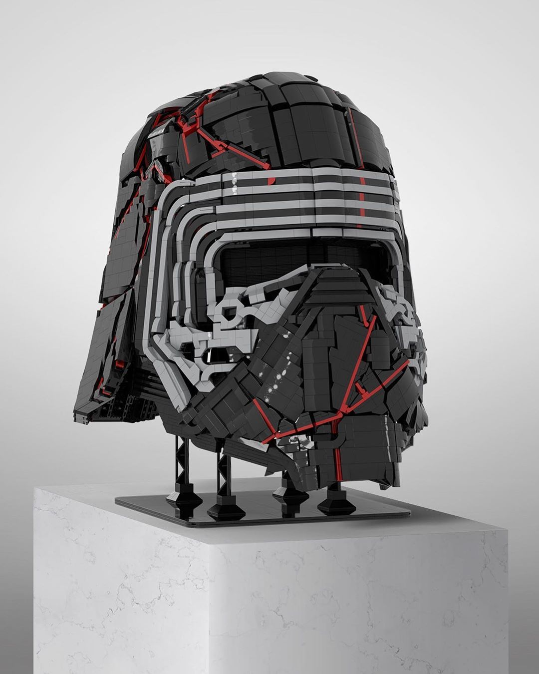 Supreme Leader Kylo Ren S New Headgear In 2020 Lego Creations