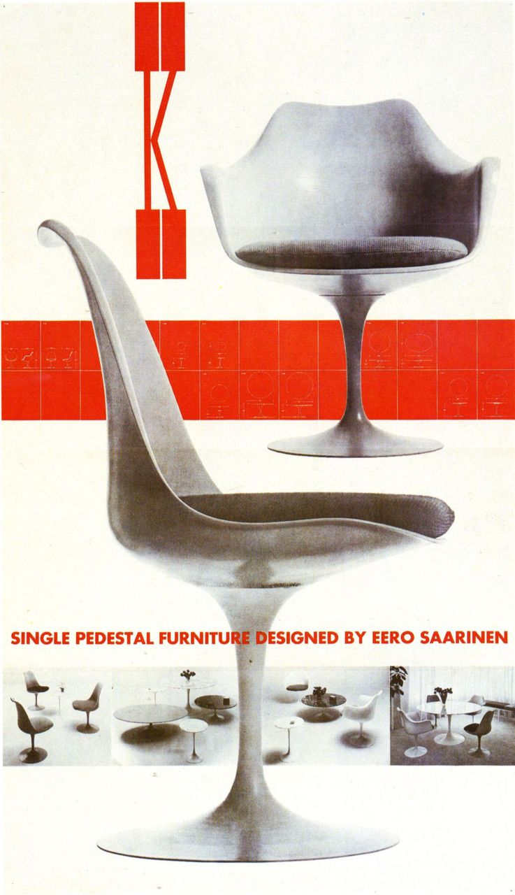 This Saarinen Tulip chair has a circular base a molded form and cushioned seat.  sc 1 st  Pinterest & Marcel Breuer Robert Venturi and More Insiders On the History of ...