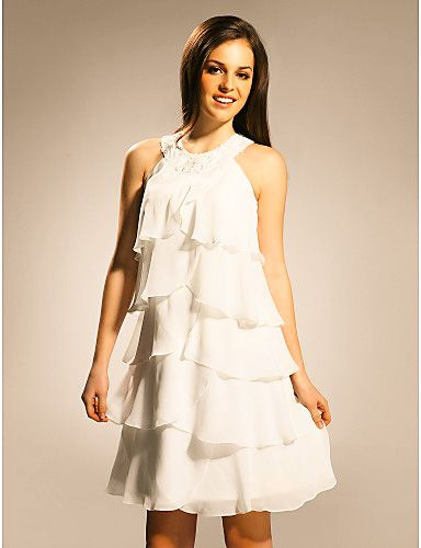 Vestido de noche para boda civil
