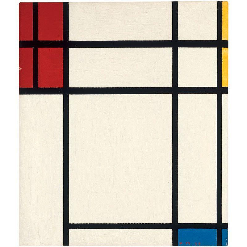 Piet Mondrians Abstract Art