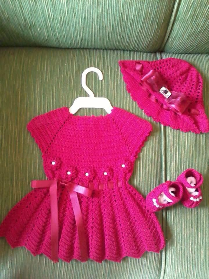 Pin de Ivana Fernández en ropa bebe y niños | Pinterest | Vestidos ...