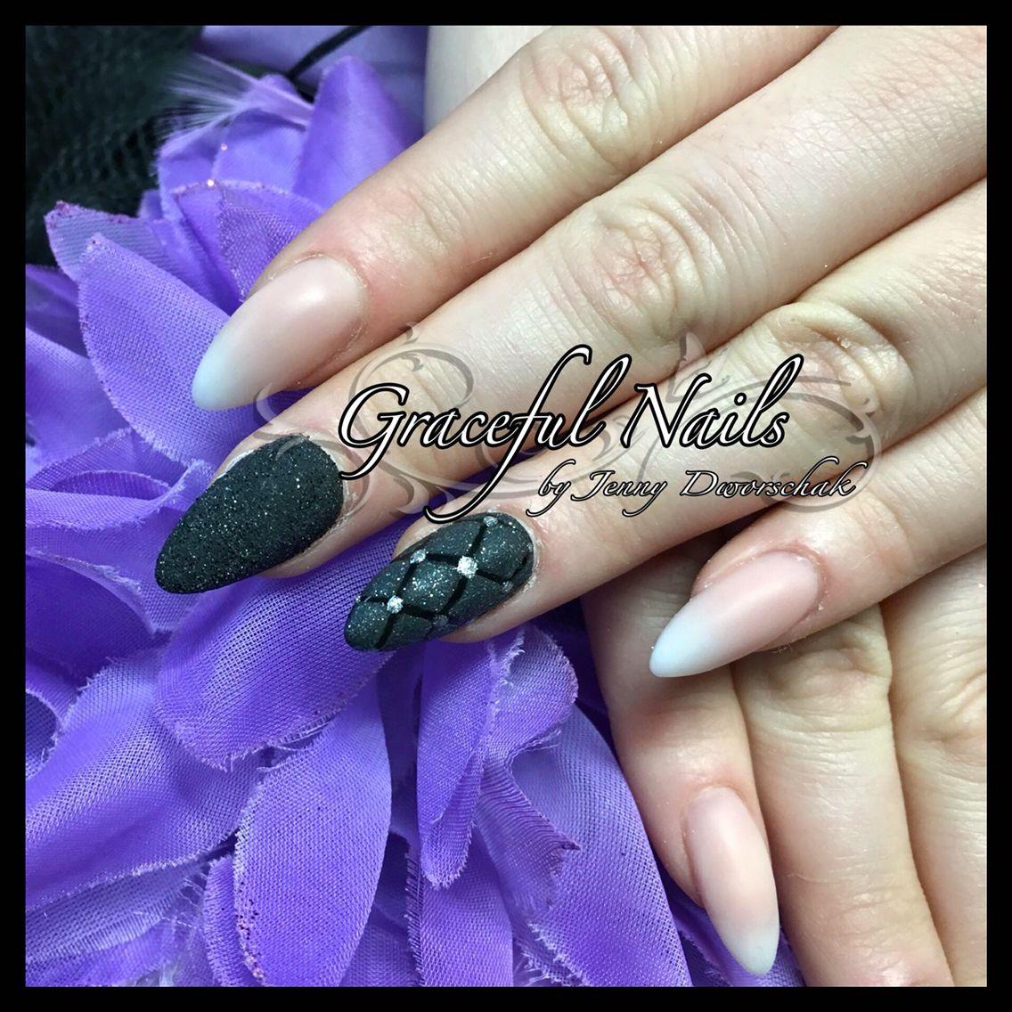 Babyboomer Sugardesign Nailart Chaneldesign Nägel Acryl Nails ...