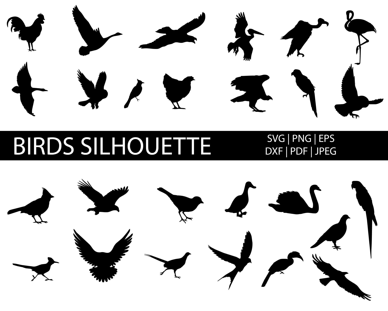Silhouette Design Store: Birds On A Wire | Sillouette art, Silhouette clip  art, Silhouette design
