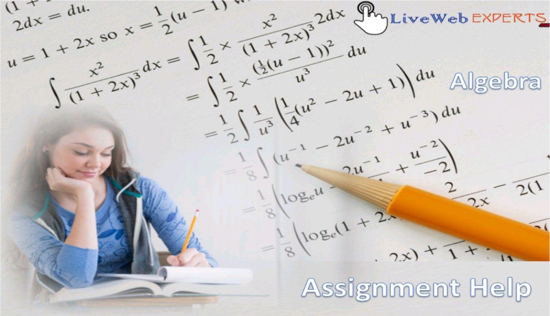 Live algebra homework help