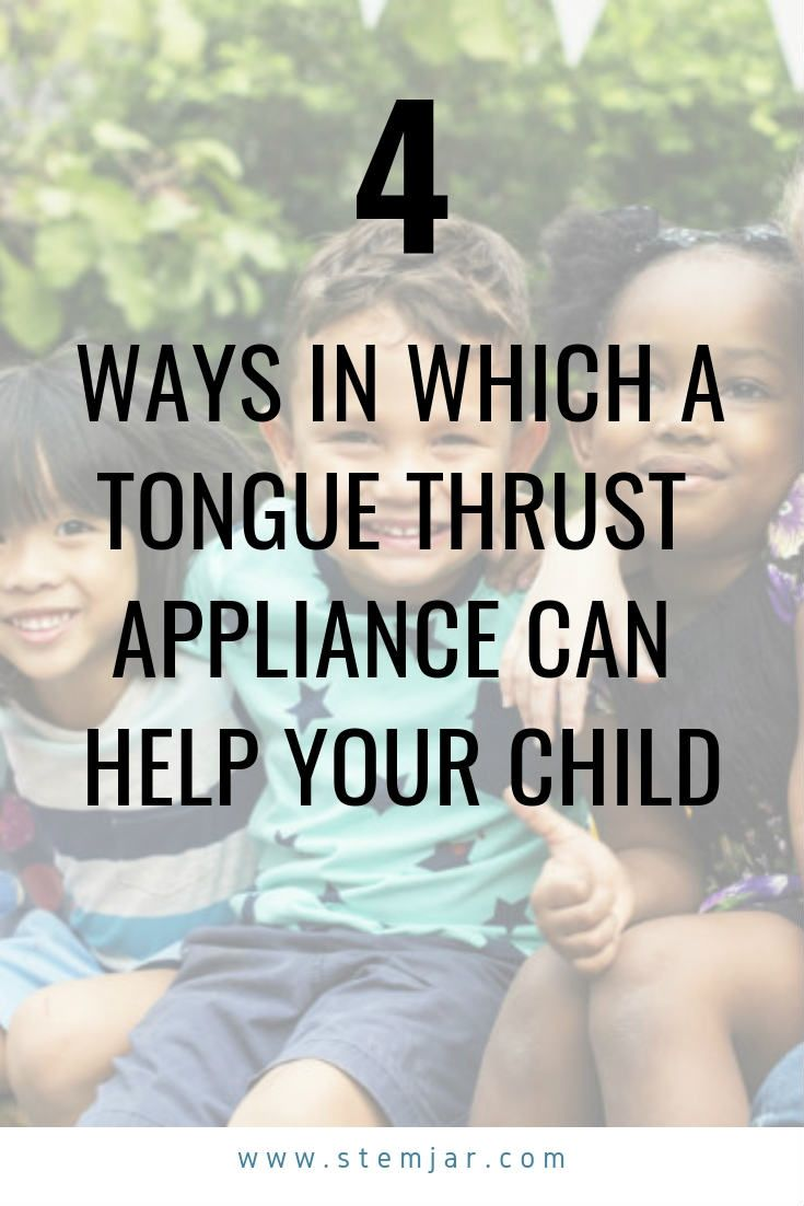 How can a Tongue Thrust Appliance Help Your Child
