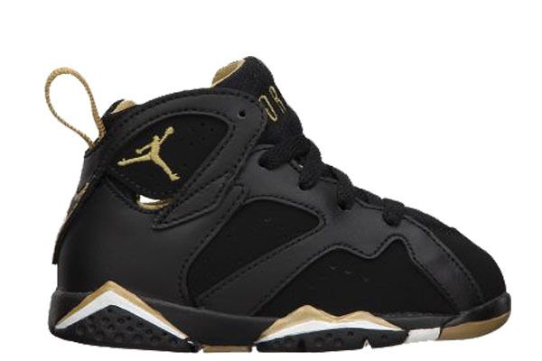 wholesale dealer 1a4da ef718 Black Gold 7s Baby Jordans, Nike Air Jordans, Jordans Sneakers, Jordan 7