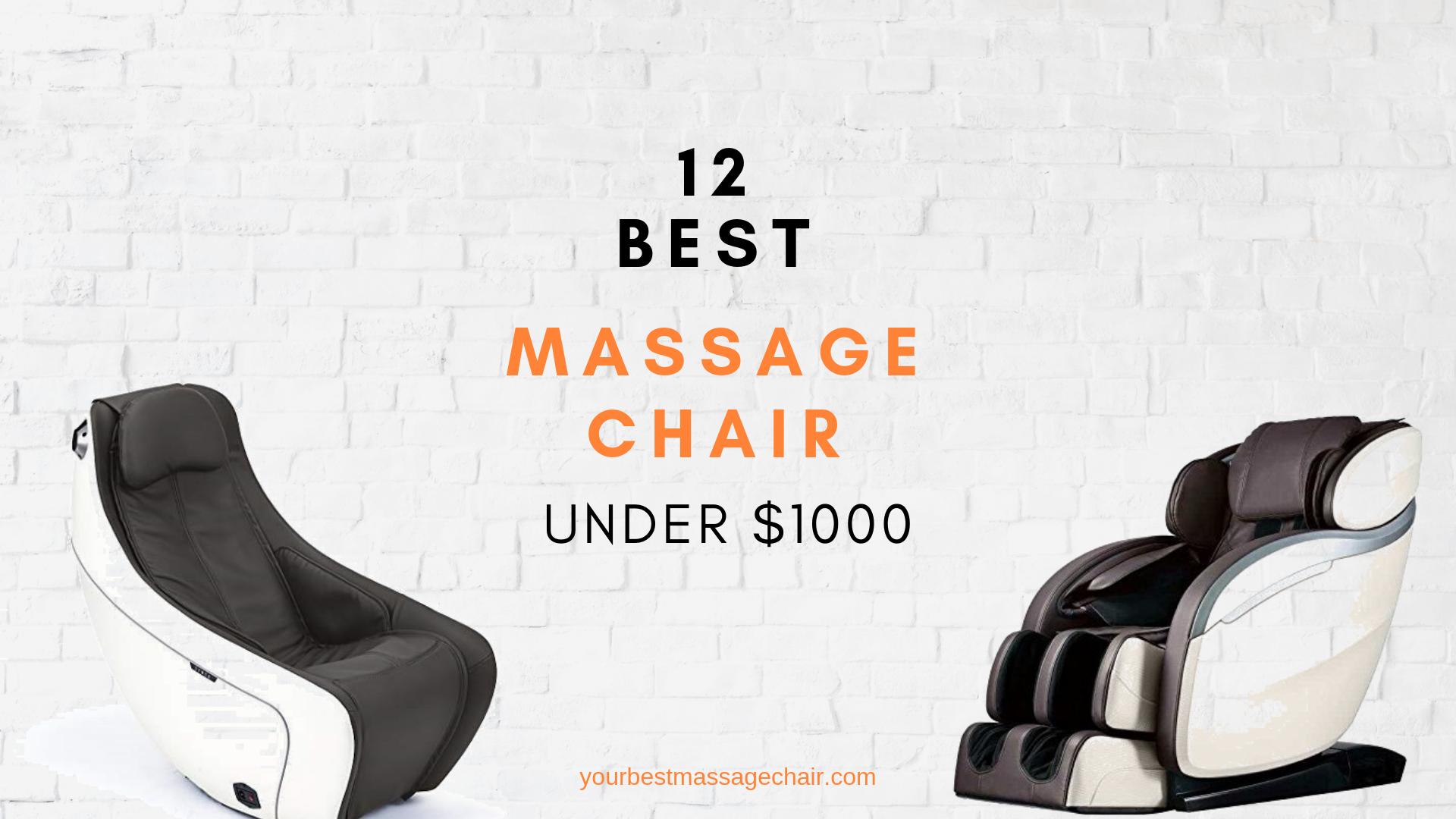 12 Best Massage Chair Under 1000 Best Massage Chair Price