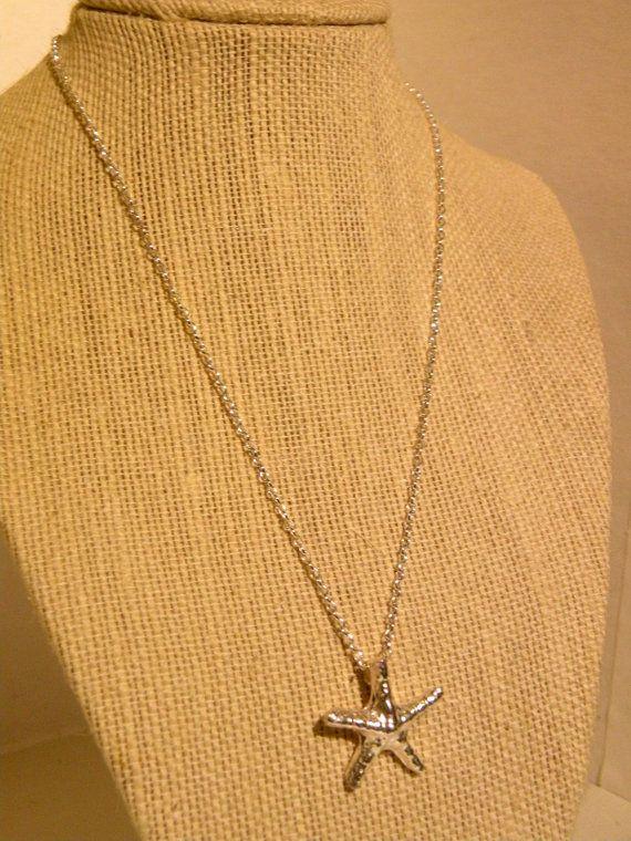 Starfish      Sterling Silver Starfish by ScorpionMoonDesigns, $63.00