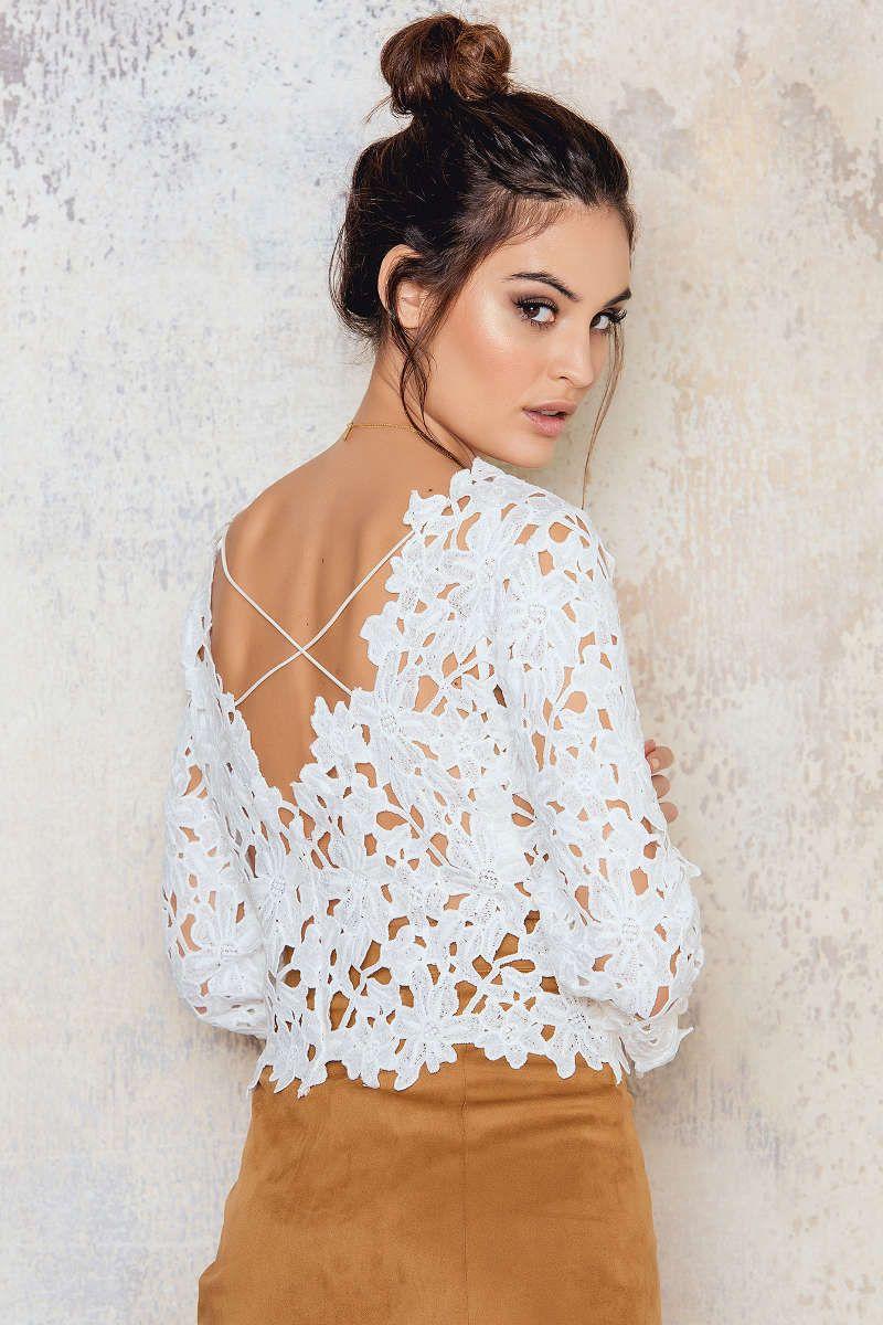 Crochet crossover back top shopping pinterest crossover ss