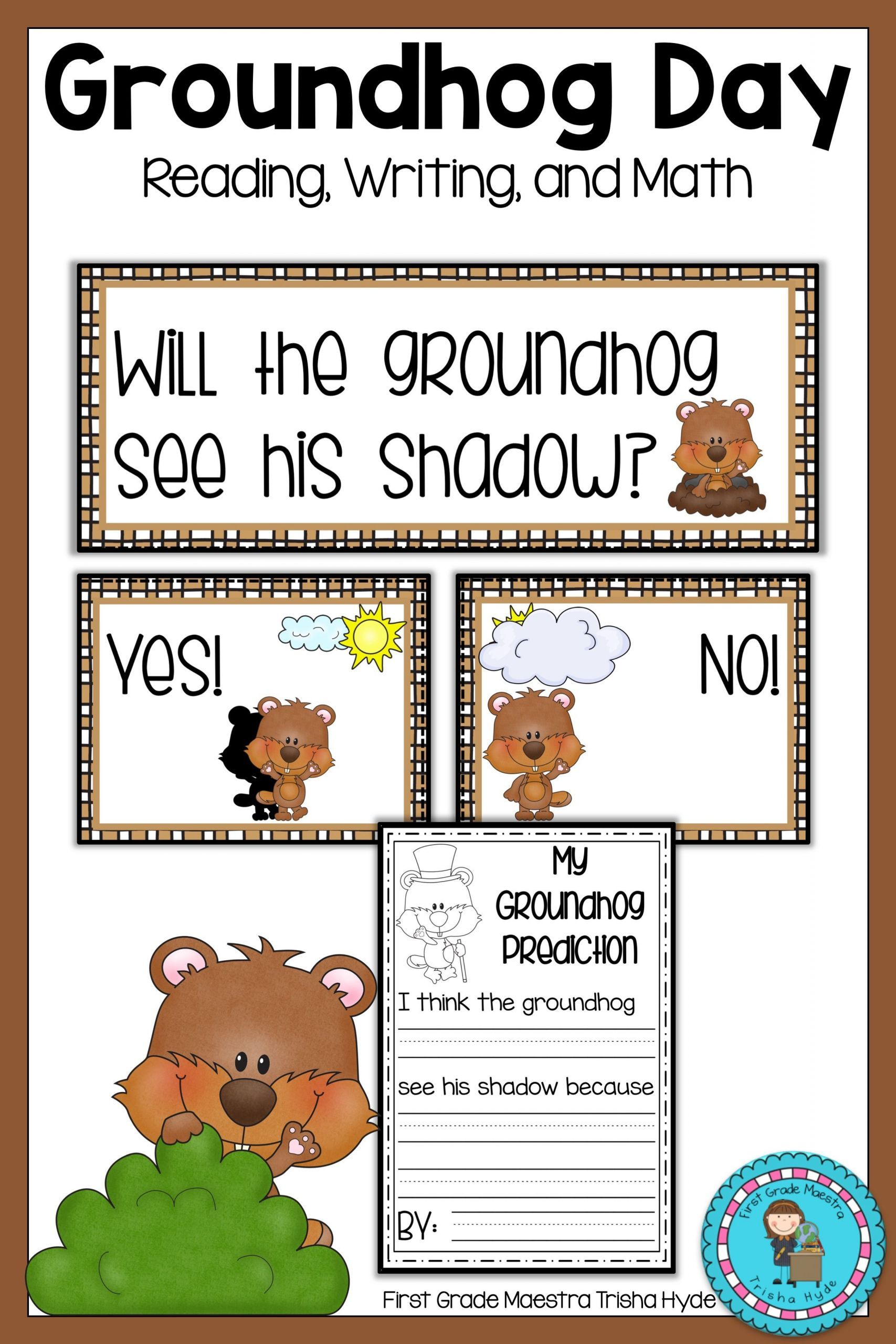 7 Groundhog Day Worksheet In With Images